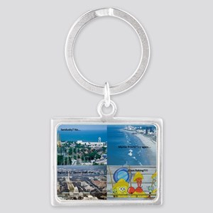 Spongebob Clams trip ideas. Landscape Keychain