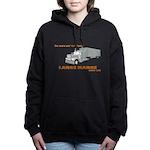 Large Marge Dark Design Women's Hooded Sweatshirt