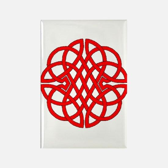 Celtic Knot 47 Rectangle Magnet