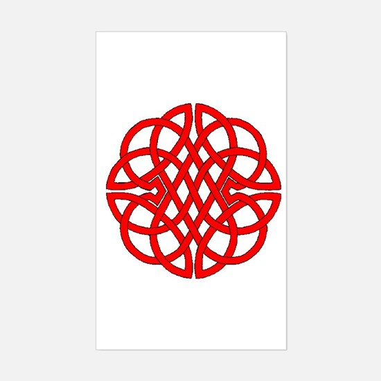 Celtic Knot 47 Rectangle Decal