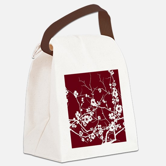 Funny Plum Canvas Lunch Bag