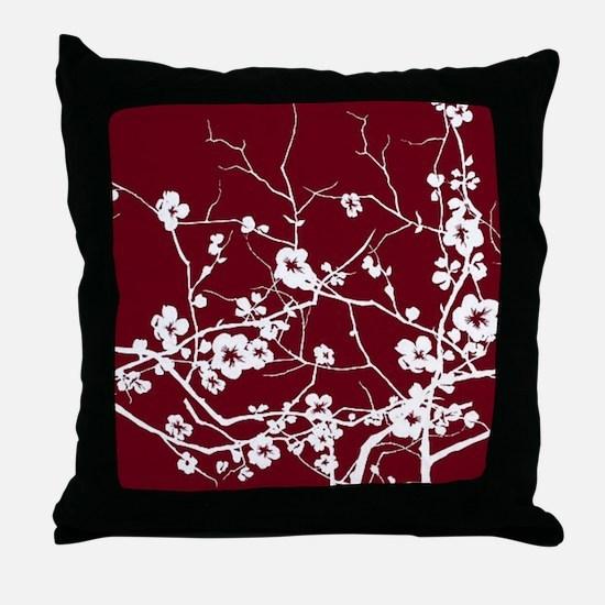 Unique Plum Throw Pillow