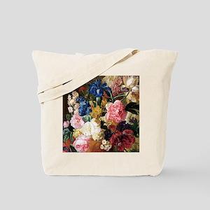 elegant vintage flowers nature floral art Tote Bag