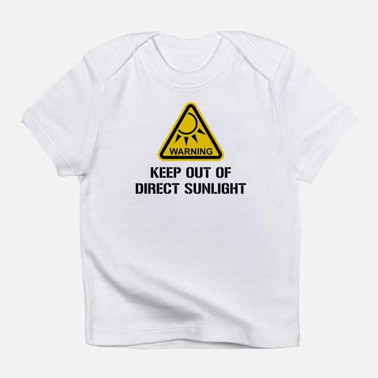 WARNING - Keep Out of Direct Sunlight Infant T-Shi