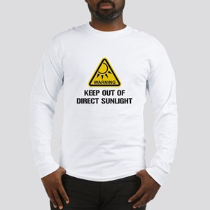 WARNING - Keep Out of Direct Sunlight Long Sleeve