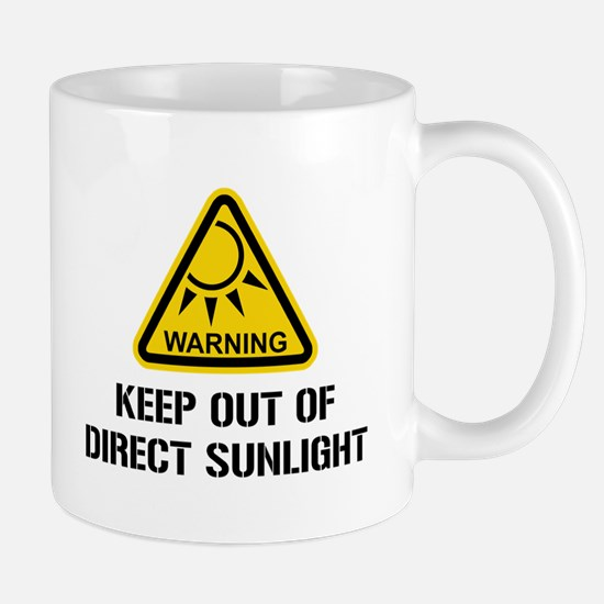 WARNING - Keep Out of Direct Sunlight Mugs