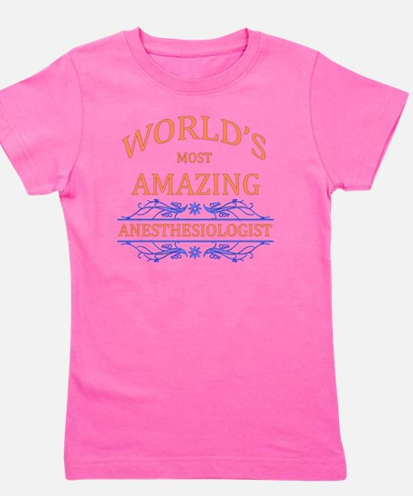 Anesthesiologist Girl's Tee