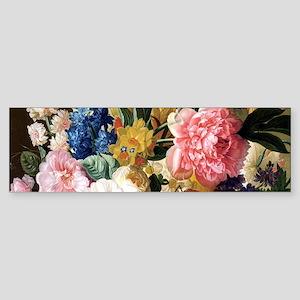 elegant vintage flowers nature floral art Bumper S