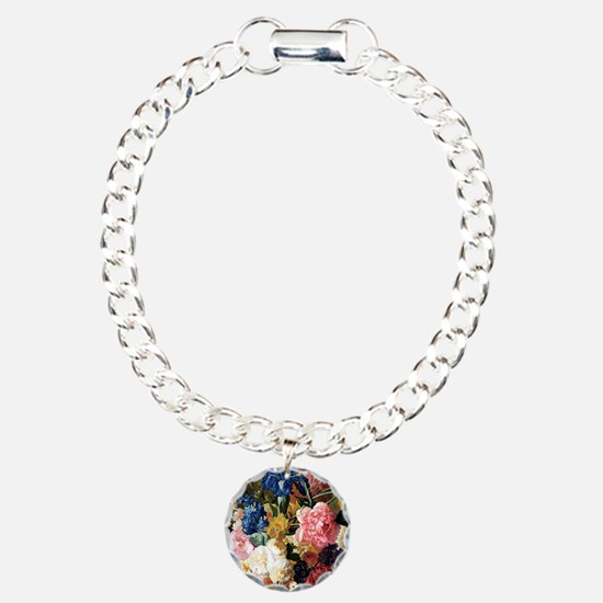 Cute Flower Charm Bracelet, One Charm