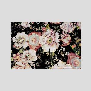 elegant vintage flowers nature floral art Magnets