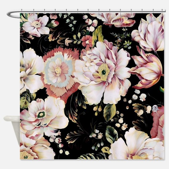 Cute Rose garden Shower Curtain