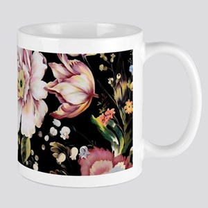 elegant vintage flowers nature floral art Mugs
