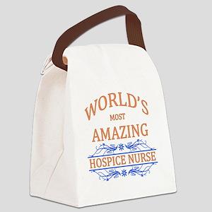 Hospice Nurse Canvas Lunch Bag