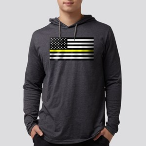 U.S. Flag: Black Flag & The Th Long Sleeve T-Shirt