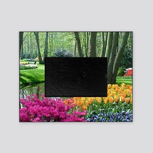 beautiful garden 2 Picture Frame