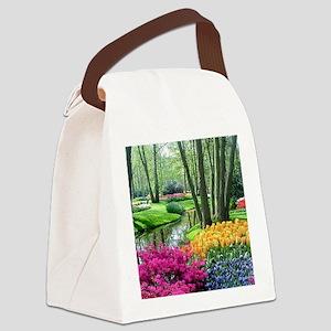 beautiful garden 2 Canvas Lunch Bag