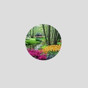 beautiful garden 2 Mini Button