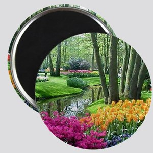 beautiful garden 2 Magnet