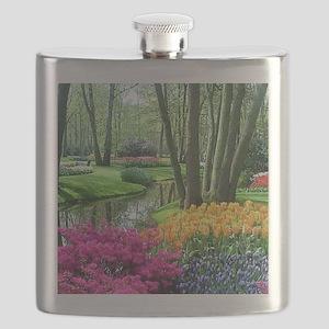 beautiful garden 2 Flask