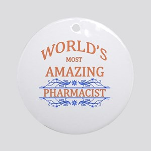 Pharmacist Round Ornament