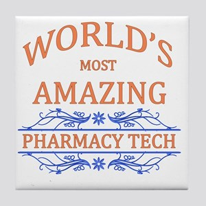 Pharmacy Tech Tile Coaster