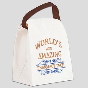 Pharmacy Tech Canvas Lunch Bag