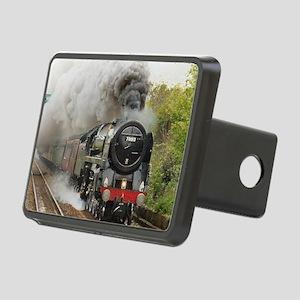 locomotive train engine 2 Rectangular Hitch Cover