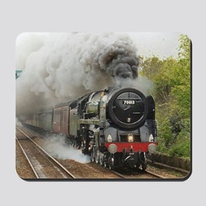 locomotive train engine 2 Mousepad