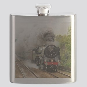 locomotive train engine 2 Flask