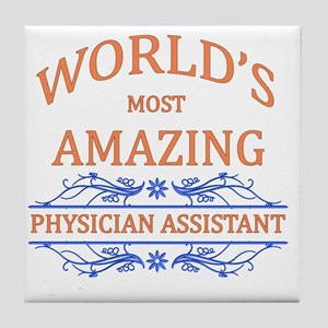Physician Assistant Tile Coaster