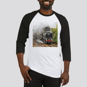 locomotive train engine 2 Baseball Jersey