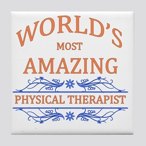 Physical Therapist Tile Coaster