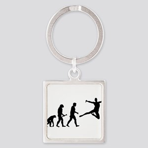 Leaping Evolution Keychains