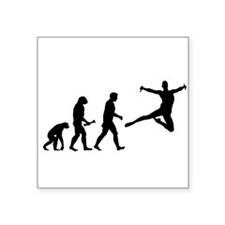 Leaping Evolution Sticker