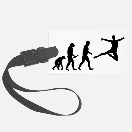 Leaping Evolution Luggage Tag
