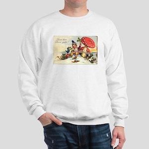vintage gnome/mushroom Sweatshirt