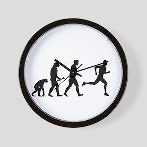 Male Runner Evolution Wall Clock