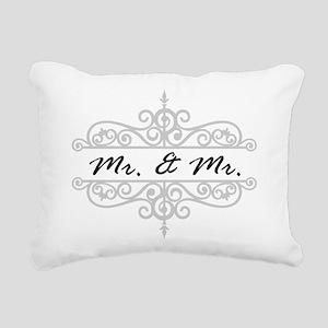 MR. AND MR. GAY WEDDING SCROLLING BORDER Rectangul