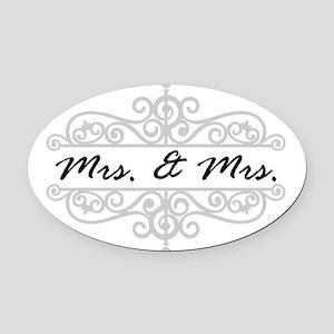 An Wedding Gift Oval Car Magnet