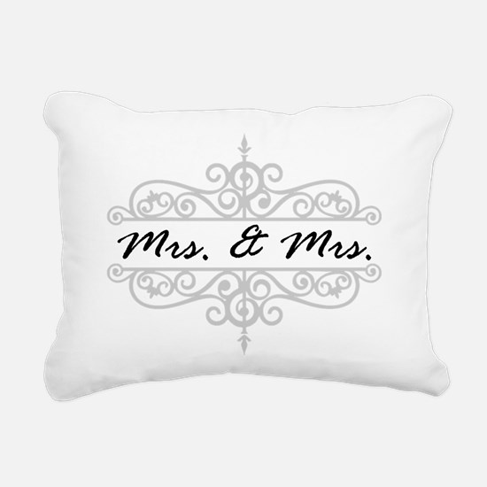 MRS. AND MRS. LESBIAN WEDDING GIFT Rectangular Can