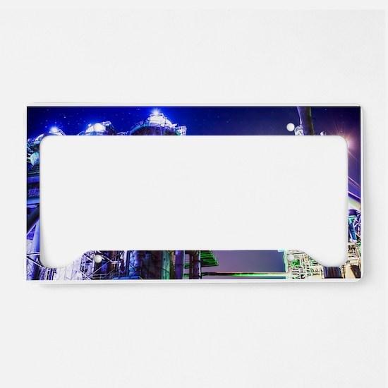 Industrial HDR Steel Plant License Plate Holder