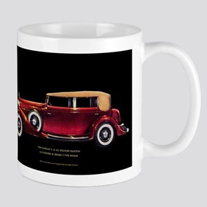 Art Deco Phaeton Convertible Coupe Mug
