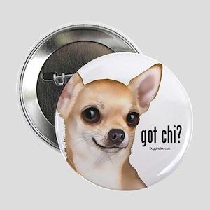 "Got Chi? (fawn) 2.25"" Button"