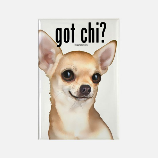 Got Chi? (fawn) Rectangle Magnet
