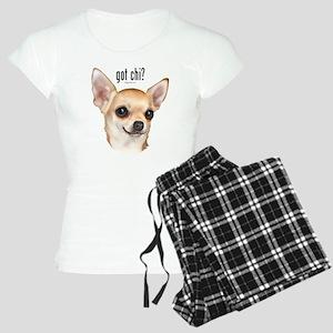 Got Chi? (fawn) Women's Light Pajamas