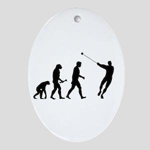 Hammer Evolution Ornament (Oval)