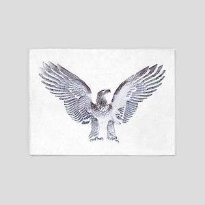 White Eagle 5'x7'Area Rug