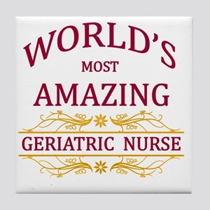 Geriatric Nurse Tile Coaster