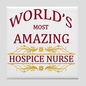 Hospice Nurse Tile Coaster
