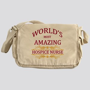 Hospice Nurse Messenger Bag